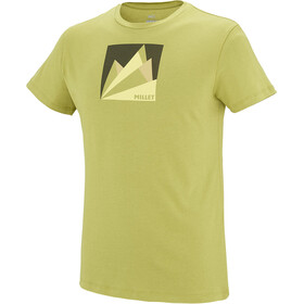 Millet Fan Mountain Short Sleeve Shirt Men green moss